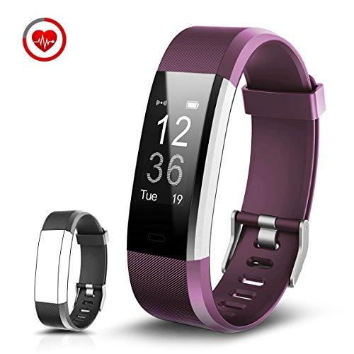 CHEREEKI Fitness Tracker Cardiofrequenzimetro Activity Tracker...