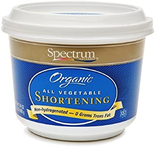 Spectrum Naturals Organic All Vegetable Shortening 24 Oz (Pack of 2)
