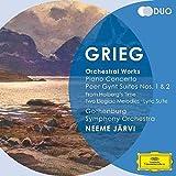 Edvard Grieg : Concerto Pour Piano - Peer Gynt - Suites orchestrales - Jarvi