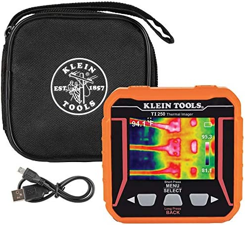 Klein Tools TI250 Rechargeable Thermal Imager Over 10 000 Pixels with Three Color Pallettes product image