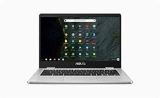 "ASUS 14"" HD Anti-Glare Nano-Edge Laptop Chromebook Computer, Intel Celeron N3350 up to 2.4GHz, 4GB DDR4, 64GB eMMC, Webca..."