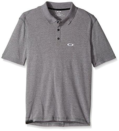 Oakley Icon Polo Shirt Large Athletic Heather Grey