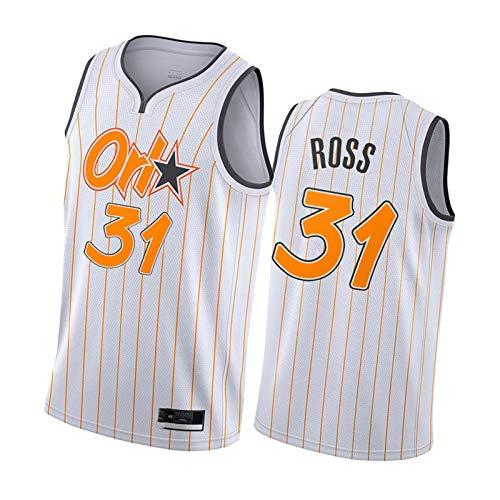 Camisetas de Baloncesto para Hombres, Magic No. 31 Rose Basketball Shirt, 25 ivando Basketball Shirt, 35 Fraser Basketball Shirt, Best Gift M No.31