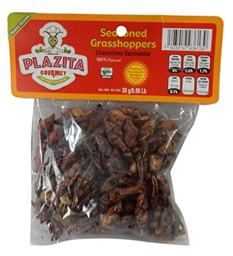 Chapulines Oaxaca (grasshoppers) - Gourmet edible insects...
