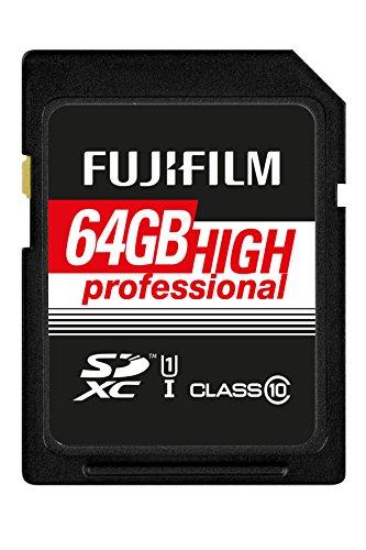 Fujifilm - Scheda di memoria SDHC UHS-I, classe 10 64 GB