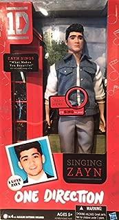 One Direction 1D Singing Zayn Doll