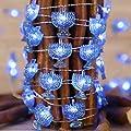 Chanukah Decorative Lights, Impress Life Menorah String…