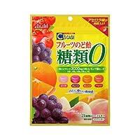 アサヒグループ食品 シーズケース フルーツのど飴 糖類0 84g×6袋