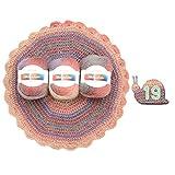 Yanhonin Hilados De Estambre Suave, Colores del Gradiente del Arco Iris DIY...
