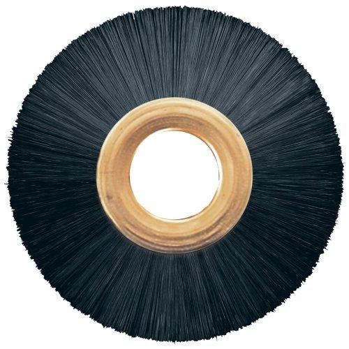 PFERD 84343 Power Copper Center Non-Wire Wheel Brush, Nylon Bristles, 3