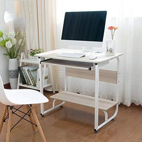 FTFTO Household Products Desktop Table Household Desktop Computer Desk One Machine Writing Desk 600 * 260mm Desks (Color : B)