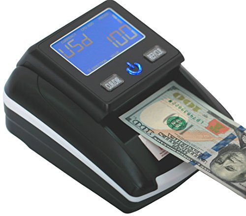 Portable 4 Way Insertion Counterfeit Bill Detector&Counter
