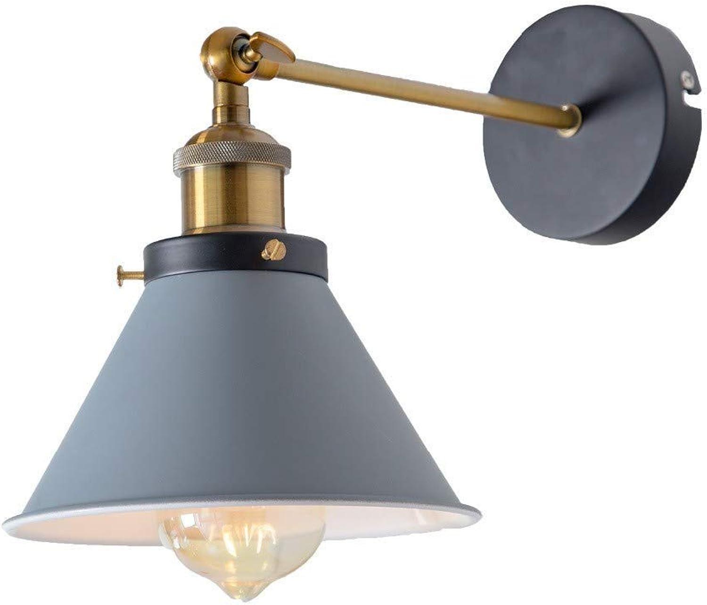 Chandeliervintage Industrial Wandleuchte E27 Indoor Schlafzimmer Balkon Bar Flur Licht