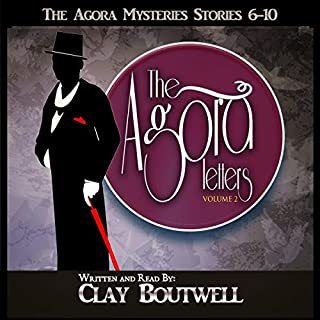 The Agora Letters Volume 2: Five Historical Murder Mysteries audiobook cover art