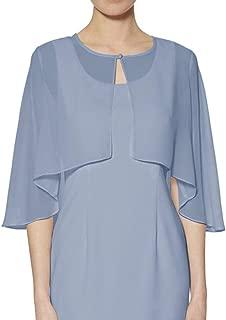 light blue cape dress