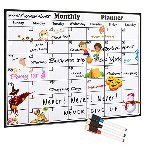 (60% OFF) Dry Erase Magnetic Calendar $7.60 – Coupon Code