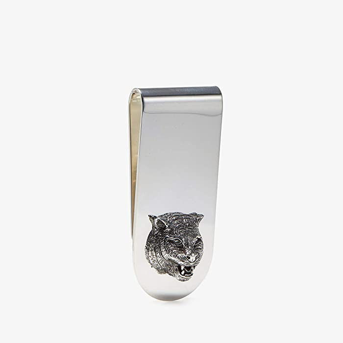 Gucci  Gatto Money Clip (Silver) Brooches Pins