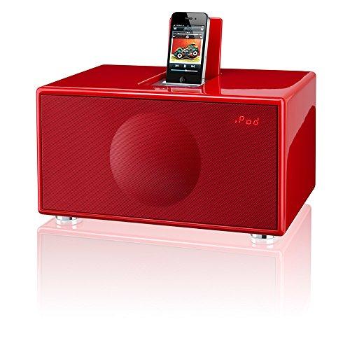 Geneva Model M All-in-One Lautsprecher FM für Apple iPod/iPhone rot