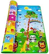 FIgment Playmat Waterproof, Anti Skid, Double Sided Baby Crawling Mat Waterproof Double Side Baby Play Crawl Floor Mat for Kids(Large Size - 6 feet *4 feet))