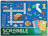 Mattel Games - Scrabble Italia - Edizione Speciale Gioco di Parole Crociate, anche in Dial...