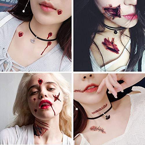 Lee's Relief Bazaar Traje Halloween Zombie Cicatrices