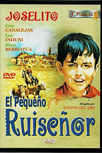 DVD EL PEQUEÑO RUISEÑOR-JOSELITO-CINE ESPAÑOL AÑOS 50-1956-DIVISA 2003