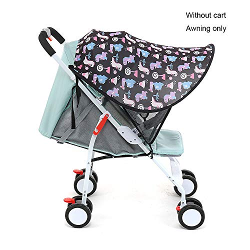 WXYLYF Poussette Sun Shade Canopy Summer Poussette Sunshade Cover Awning Sleep Canopy Stroller Sun Visor Waterproof