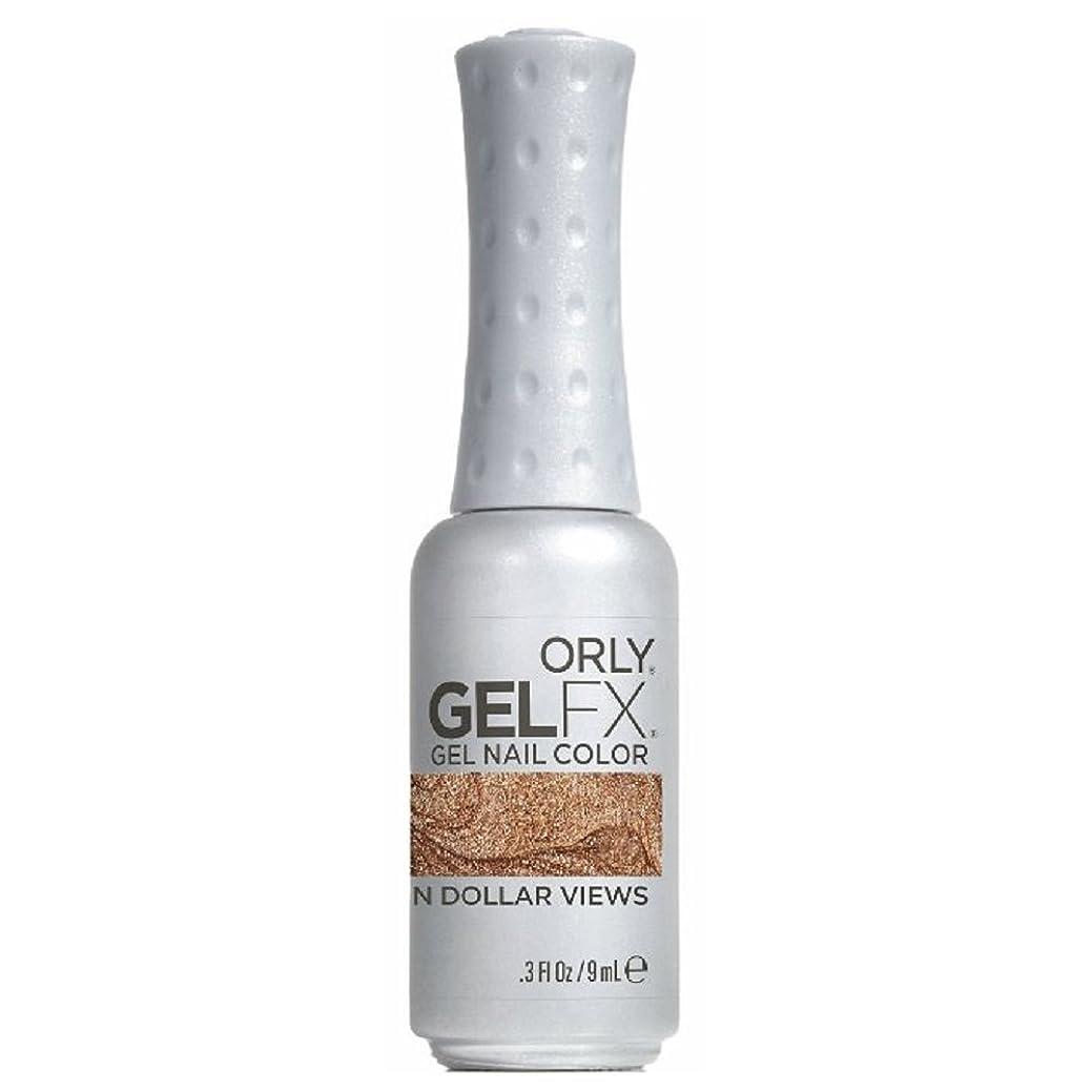 レキシコン葉ビジョンOrly GelFX Gel Polish - Million Dollar Views - 0.3oz / 9ml