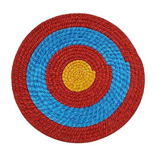Sportbogenschießen im Freien, das handgemachte Ziele schießtRunde Strohscheibe Coiled Archery Straw Target Zielscheibe Bogenschießen Stroh Bogen Ziel Traditioneller Bogenschießen
