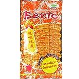 Bento Squid Seafood Snack Thai Original Chili Paste Flavor Very Hot Wt 24 G (0.85 Oz) X 5 Bags