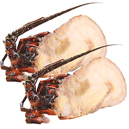 伊勢海老半身 小サイズ2個 鮮度の良い三重県産伊勢海老を瞬間凍結 調理しやすいよう半分にカット 海鮮 バーベキュー BBQ テルミドール イセエビ いせえび