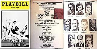 Playbill: On the Twentieth Century - St. James Theatre [March 1979] IMOGENE COCA
