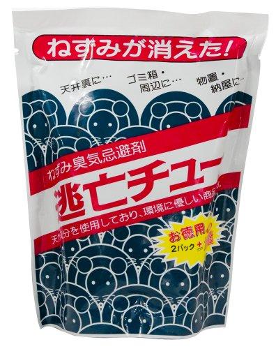 ねずみ忌避剤【逃亡チュー 9パック(3パック入×3袋)】