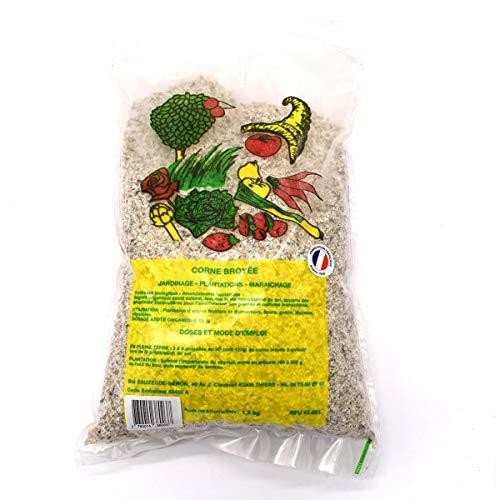 Multitanks - Sac d'engrais de cornes broyées en poudre, poids 1.5kg