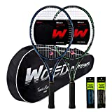 WOED BATENS Adult 2 Player Tennis Racket Perfect for Beginner and Professional...