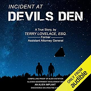 Incident at Devil's Den audiobook cover art