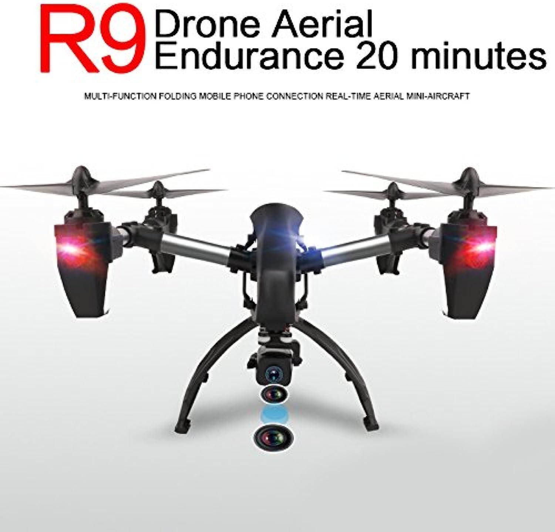 autorización oficial Hanbaili R9 Drone de de de transmisión en Tiempo Real con cámara FPV WiFi, 4 Motores de operación Crown High, Bass Flying Power de Forma simultánea, RC Quadcopter para Niños con Modo sin Cabeza  servicio honesto