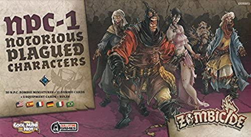 punto de venta Zombicide  negro Plague NPC-1 Sepcial Sepcial Sepcial Walkers - Multilingual by Guillotine Games  hasta 42% de descuento