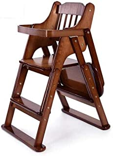 Children s Dining Chair  Adjustable Portable Baby Stool Table  Baby Dining Chair Foldable Portable Baby Feeder  Wooden Dining Table Chair