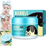 Blasen Gesichtsmaske Ton Schlamm Schaum Feuchtigkeitsspendende Whitening Oil Control Hydrate Aufhellen Schrumpfen Poren Hautpflege Waschbar Gesicht Sauerstoff Schlafmaske Gel Tiefenreinigung