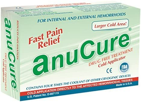 Anucure the BEST Hemorrhoids Treatment Available Contains 4 Times More Coolant than All Other product image