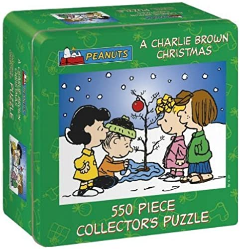 Puzzle - A Charlie braun Christmas by USAopoly (English Manual)
