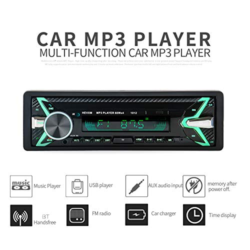 YUSHHO56T Auto Player Auto Intelligent System Player HEVXM 1012 Wireless Auto Radio Stereo Media Player 4 Lautsprecher Key Lights