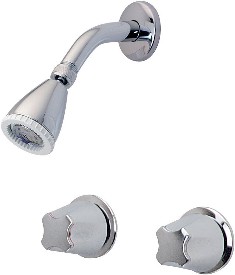 Pfister LG07-1110 2 在庫一掃売り切りセール Shower with 激安特価品 Knob Chr Metal Handles Polished