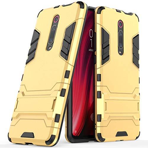SCIMIN Capa híbrida Xiaomi Mi 9T Pro, Xiaomi Mi 9T Pro à prova de choque, capa rígida híbrida de proteção de camada dupla com suporte para Xiaomi Mi 9T Pro de 6,39 polegadas