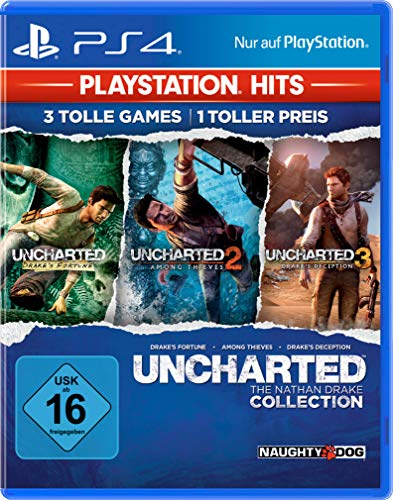 Uncharted Collection (Teil 1-3) - PlayStation Hits - [PlayStation 4]