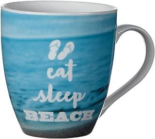 Pfatlzgraff Sentiment 18oz Mug (Eat, Sleep, Beach)