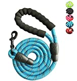 YSNJXL 5 FT Strong Dog Leash for Medium Large Dogs Heavy Duty Rope...