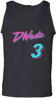 The Tune Guys Black Miami Wade Vice City Tank Top