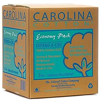 CAROLINA COTTON Expand-A-Coil Economy Pack 3 lbs
